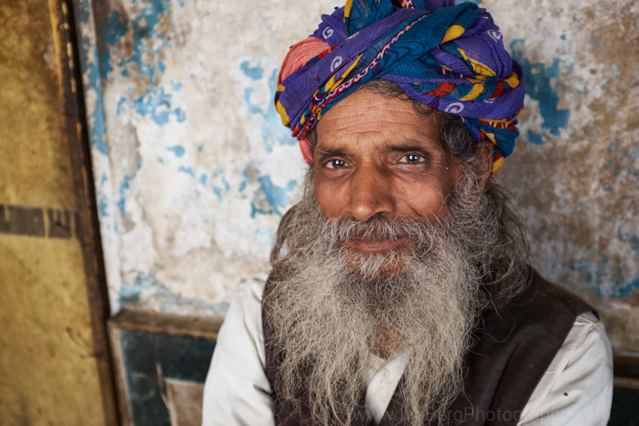 Old man Jaipur 1